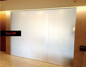 Switchable Glass, Smart Glass, PDLC, Self-Advertising