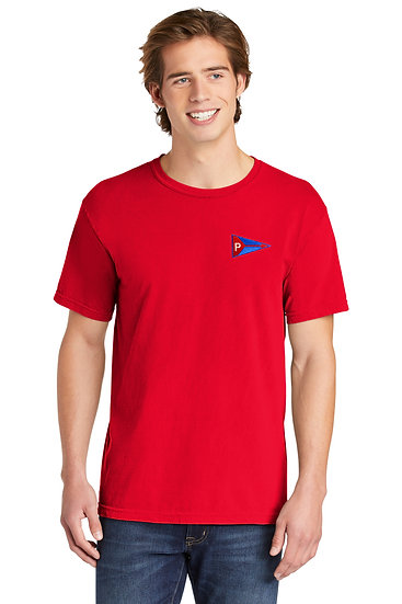 Comfort Colors ® Heavyweight Ring Spun Tee With Embroidered Logo