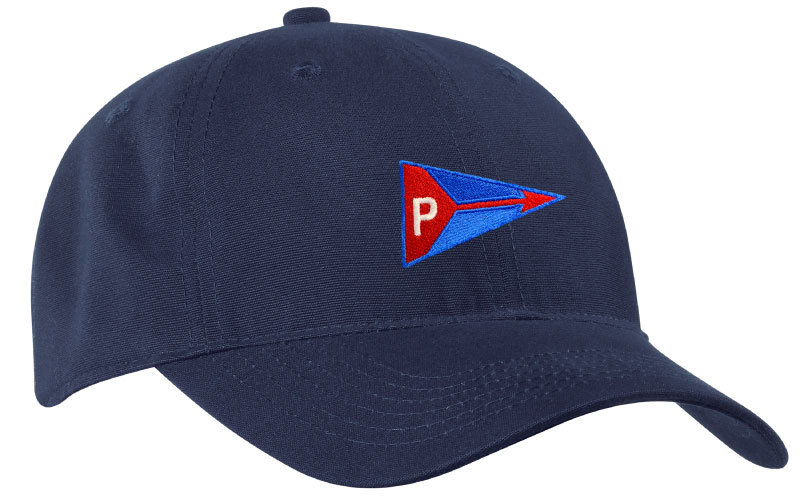Port & Company® - Soft Brushed Canvas Cap With Embroidered Burgee