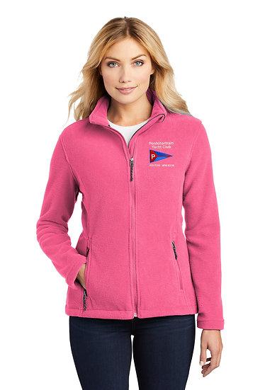 Port Authority® Ladies 8.3 Oz. Fleece Jacket