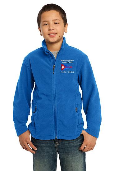 Port Authority® Youth 8.3 Oz.Fleece Jacket