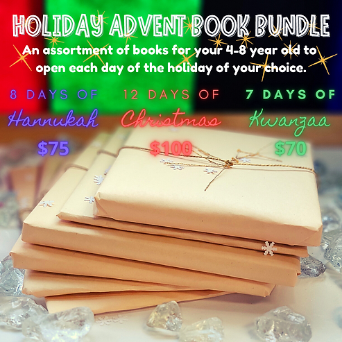 HOLIDAY ADVENT BOOK BUNDLE FULL GRAPHIC.