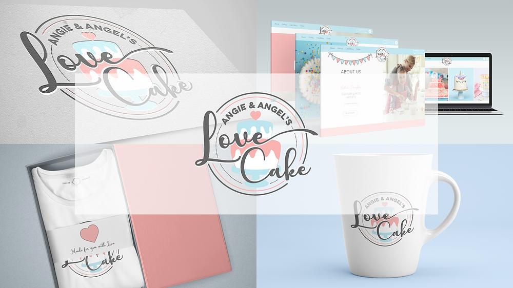 Angie & Angel's Love Cake