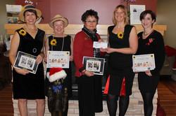 Calendar Girls Make BIG donation