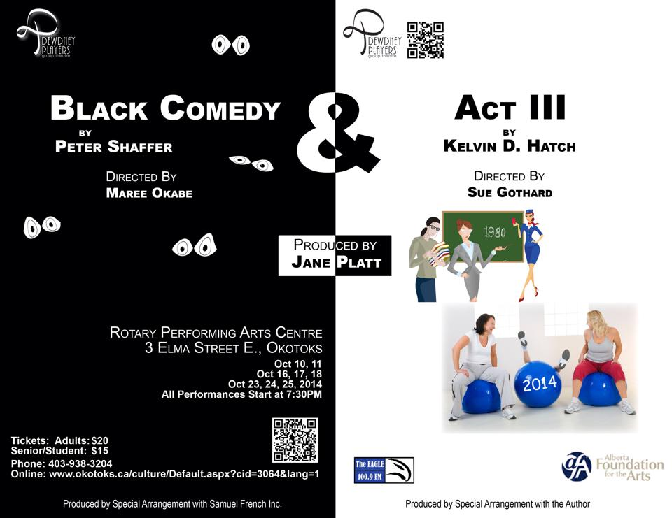 Black Comedy & Act III Fall 2014