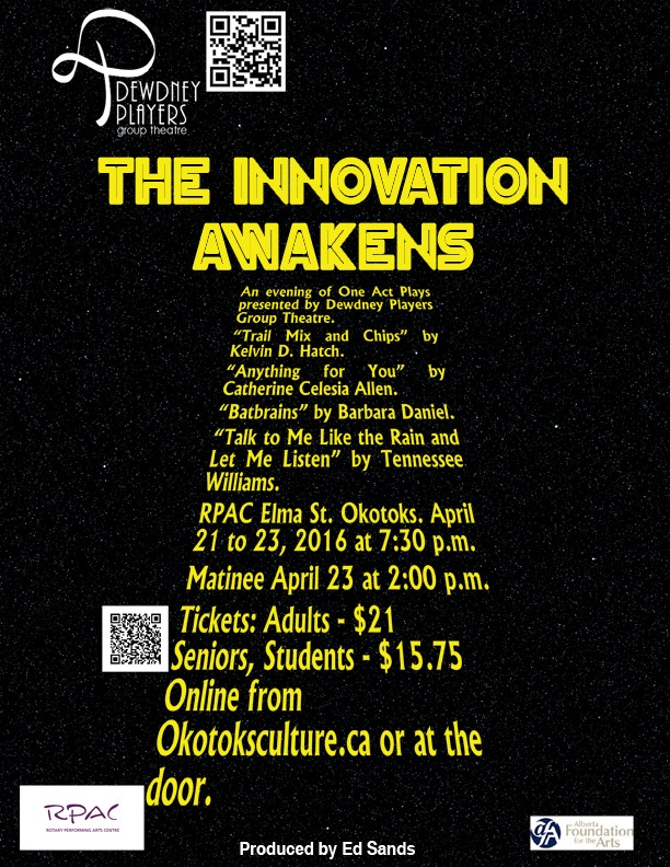 The Innovation Awakens - One Acts - April 2016