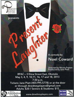 Present Laughter May 2013