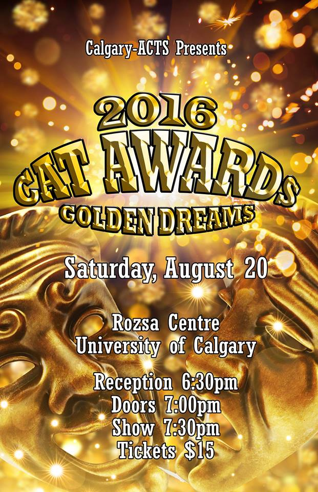 2016 Cat Awards poster- Aug