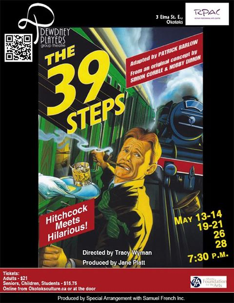 The 39 Steps poster May 2016