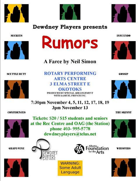 Rumors Nov 2011