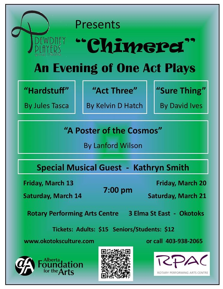 Chimera - An Evening of One Act Plays March 2015