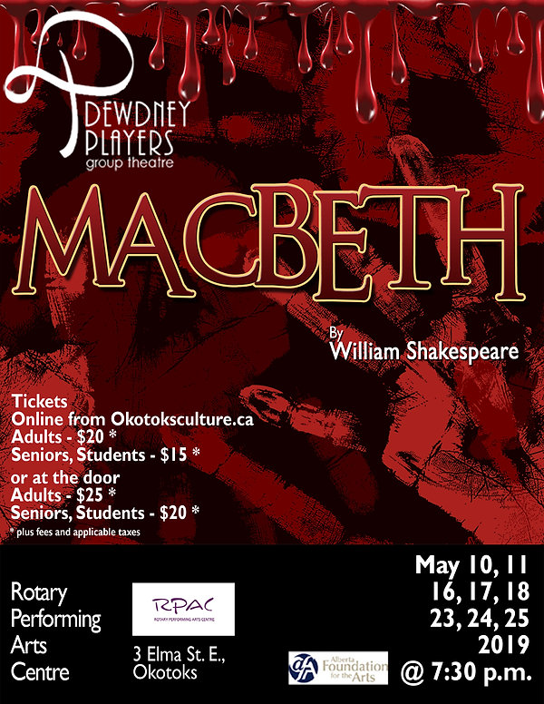 Dewdney Players Macbeth