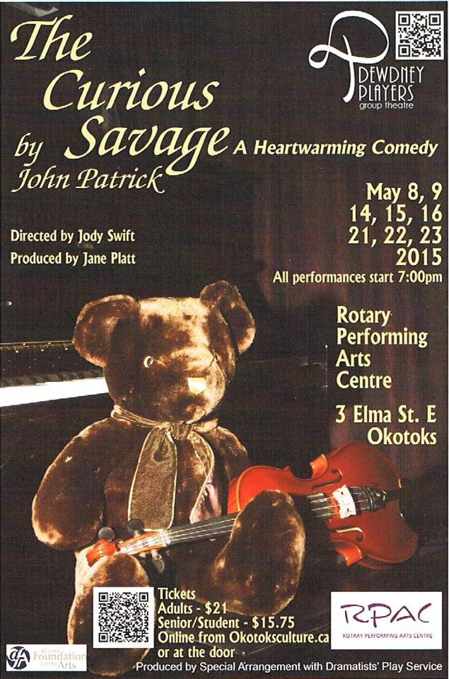 The Curious Savage May 2015 poster