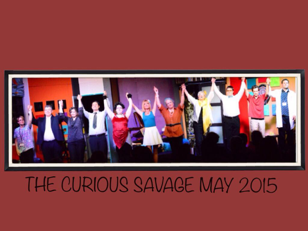 cast of The Curious Savage May 2015