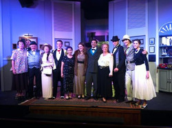 cast of Present Laughter May 2013