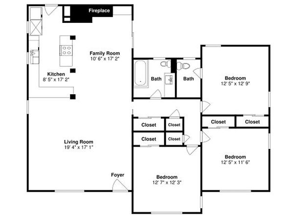 Floor Plan for Real Estate Photography Services