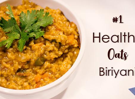 Vegetable Oats Biryani