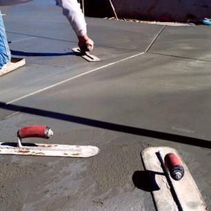 Finish concrete