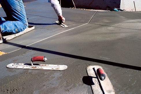 Сглаживание бетона