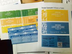 Ticket Samples