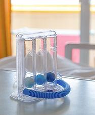 Three balls Incentive Spirometer for dee