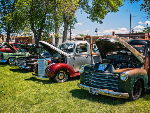 Cars Shine While Ducks Race At Depot Park