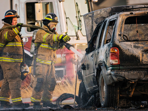 DVFD Responds To Car On Fire
