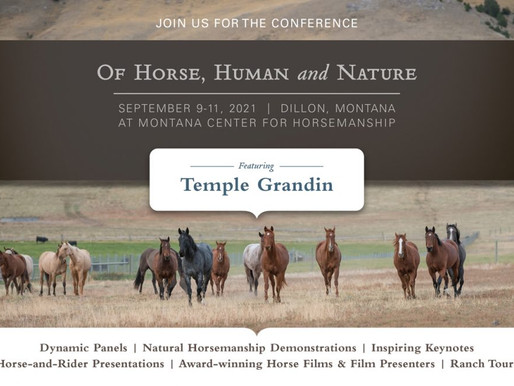 National Conference: Of Horse, Human and Nature Presented by MCH and UMW