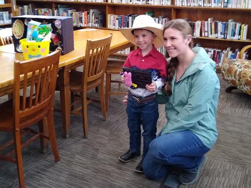 Dillon Public Library Announces Winner Of Peeps Diorama