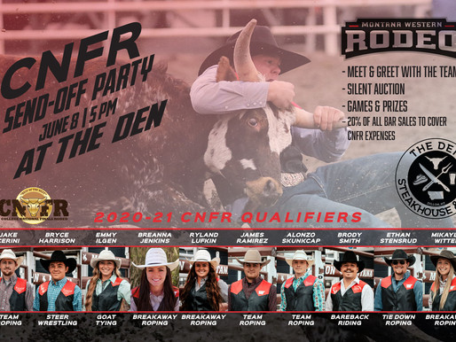 UMW Rodeo CNFR Send Off Party