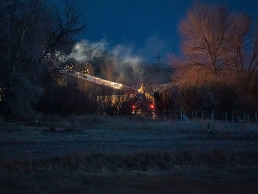 Dillon Volunteer Fire Department Responds To Chimney Fire