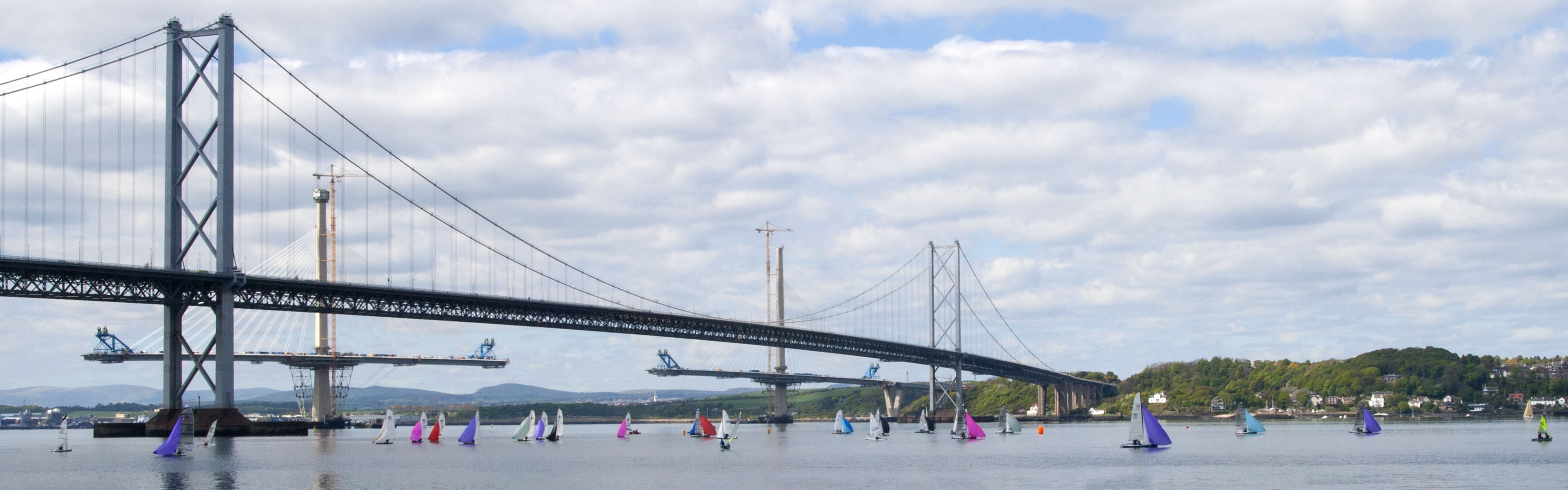 Forth Road Bridge, Edinburgh - 3002