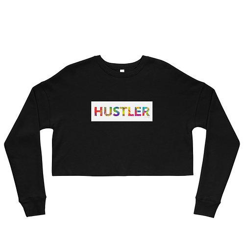 """""""Hustler"""" Crop Sweatshirt"""