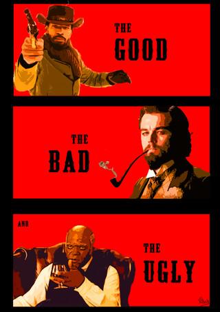 Django Alternate Poster