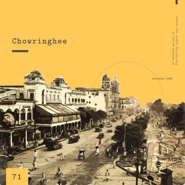 Typography poster on Calcutta