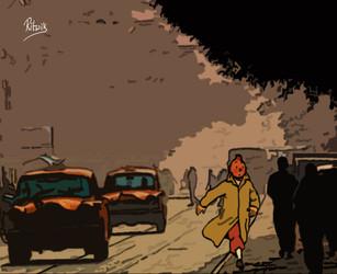 Tintin in Kolkata