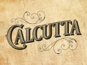 Calcutta Typography Poster