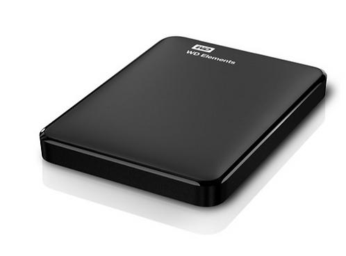 WD Elements Portable 2,5'' 1TB Black USB 3.0