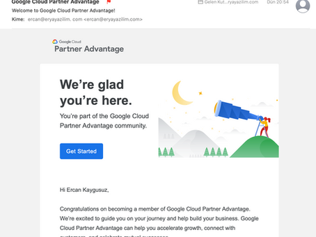Google Partner - Erya Yazılım A.Ş.
