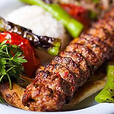 """Urfa kabab"" (acısız) / ""Urfa kebab"" (not spicy)"