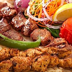 Qarışıq kabab / Mixed kebab
