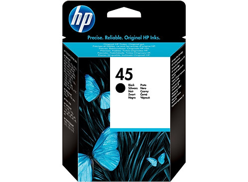 HP 45 Kartuş 51645AE (42ML) %100 Orjinal - Plotter Kartuş