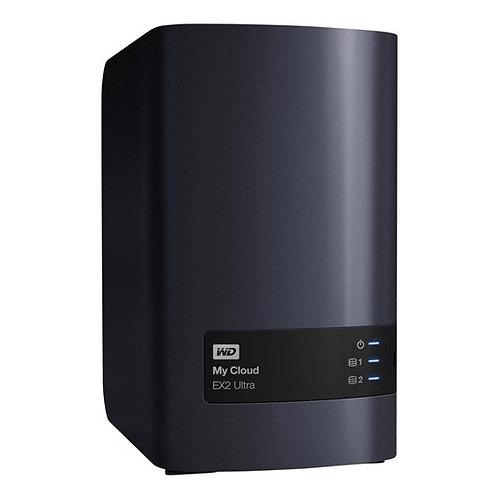 Wd My Cloud Ex2 Ultra 4TB (2X2) Nas WDBVBZ0040JCH-EESN