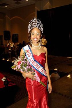 Miss Liberia US 2009-Mattie James
