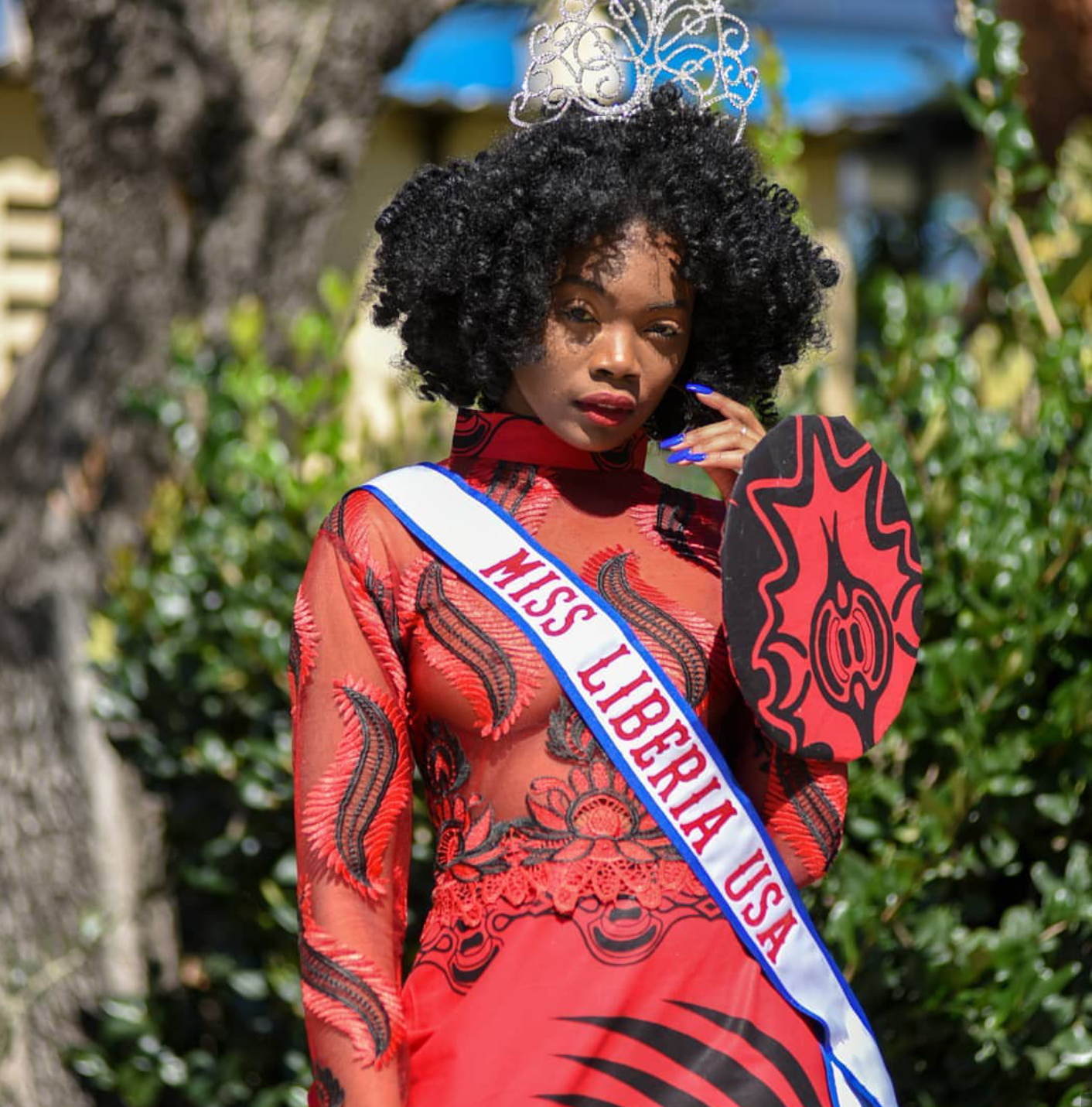Miss Liberia US 2018-19-Naomi Glay