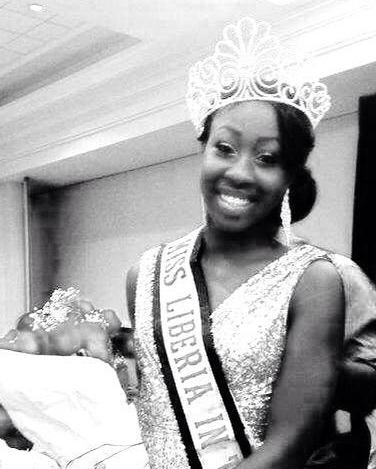 Miss Libeira US 2014-Moandra Johnson