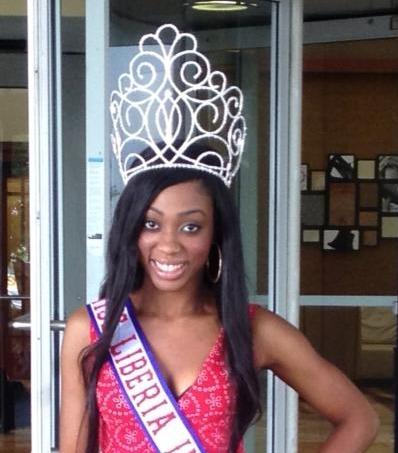 Miss Liberia US 2013-Mollyn Jarbo