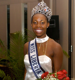 Miss Liberia US 2004 - Robertha Budy