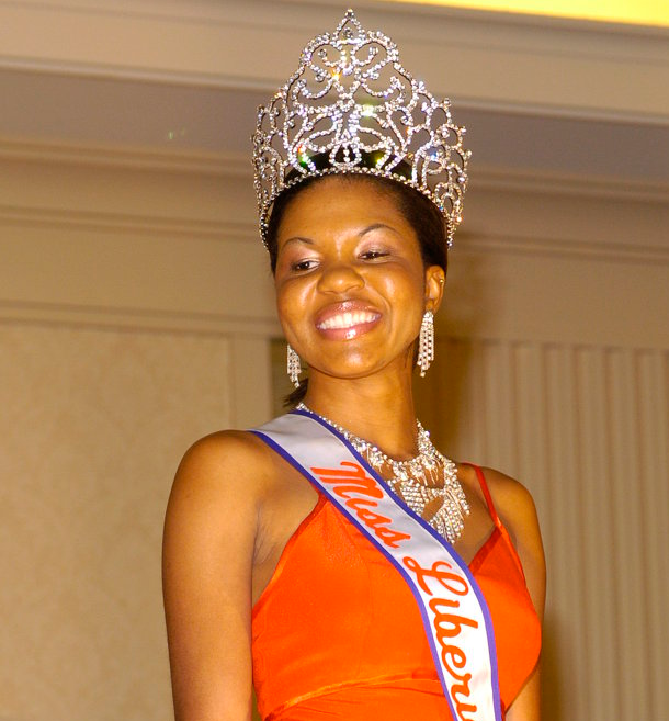 Miss Liberia 2003-Desiree Gibson
