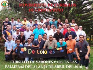 Cursillo de Varones Managua #106